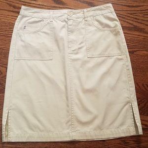 Tommy Hilfiger Khaki Skirt Size 6